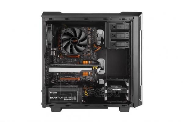 PC korpusas be quiet! Silent Base 600 window, sidabr., ATX, micro-ATX, mini-ITX Paveikslėlis 4 iš 5 310820015732