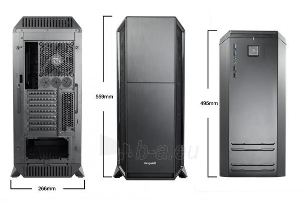 PC korpusas be quiet! Silent Base 800 Window, juodas, ATX, micro-ATX, mini-ITX Paveikslėlis 2 iš 4 310820015658