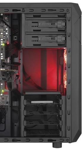 PC korpusas Corsair Carbide Series™ SPEC-01 RED LED Mid Tower Gaming Paveikslėlis 3 iš 3 250255901066