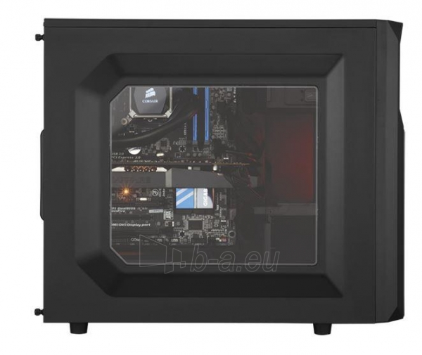 PC korpusas Corsair Carbide Series SPEC-02 Mid Tower, 120mm, LED Paveikslėlis 2 iš 2 250255901063