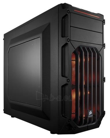 PC korpusas Corsair Carbide Series SPEC-03 Orange LED Mid Tower Paveikslėlis 1 iš 3 250255901065