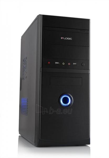PC korpusas LOGIC A10 Midi Tower su PSU LOGIC 400W ATX PFC, USB 3.0 Paveikslėlis 1 iš 4 250255900840