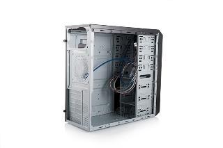 PC korpusas Logic B24, Midi tower, USB3, 2xUSB2, HD Audio Paveikslėlis 2 iš 3 250255900855