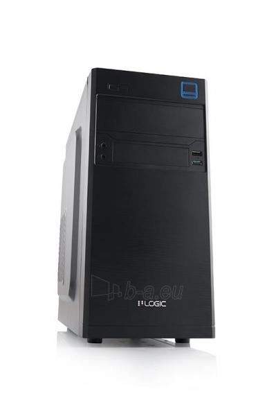 PC korpusas LOGIC M4 MiniTower,su PSU LOGIC 400W ATX PFC, USB 3.0 Paveikslėlis 1 iš 3 250255901085
