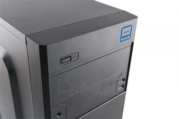 PC korpusas LOGIC M4 MiniTower,su PSU LOGIC 400W ATX PFC, USB 3.0 Paveikslėlis 3 iš 3 250255901085