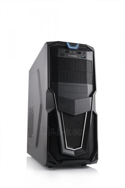 PC Korpusas Logic Triks, USB3, Gaming, HD-Audio, Toolless Paveikslėlis 1 iš 5 250255900856