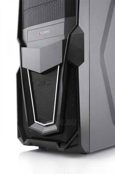 PC Korpusas Logic Triks, USB3, Gaming, HD-Audio, Toolless Paveikslėlis 4 iš 5 250255900856