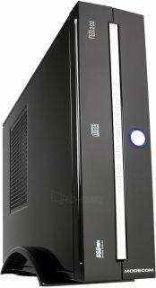 PC korpusas MODECOM FEEL 202 Mini ITX PSU 96W Juodai sidabrinis Paveikslėlis 1 iš 1 250255900857