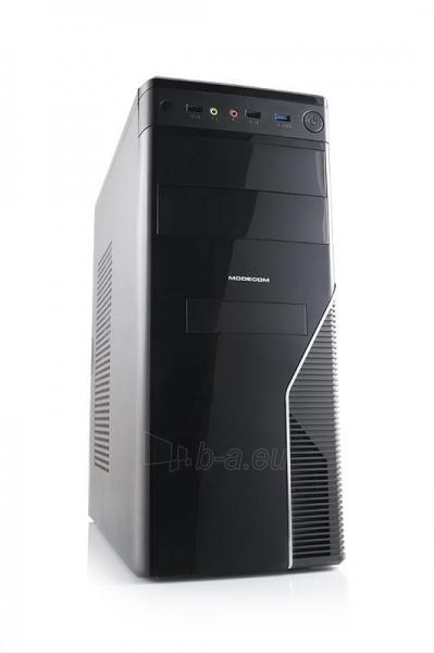 PC korpusas Modecom STEP3,  USB 3.0 su Logic 400, Juodas Paveikslėlis 1 iš 4 250255900955