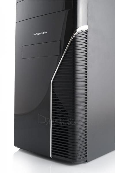 PC korpusas Modecom STEP3,  USB 3.0 su Logic 400, Juodas Paveikslėlis 3 iš 4 250255900955