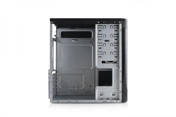 PC korpusas Modecom STEP3,  USB 3.0 su Logic 400, Juodas Paveikslėlis 4 iš 4 250255900955