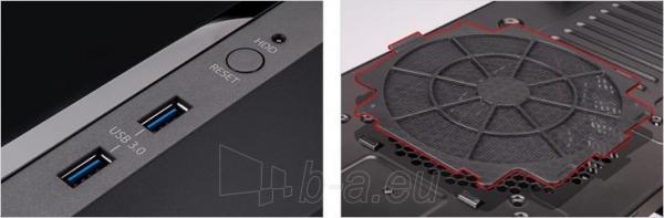 PC korpusas Zalman Chasis Z11 Plus HF1 Midi Tower USB 3.0 Paveikslėlis 8 iš 9 250255900905