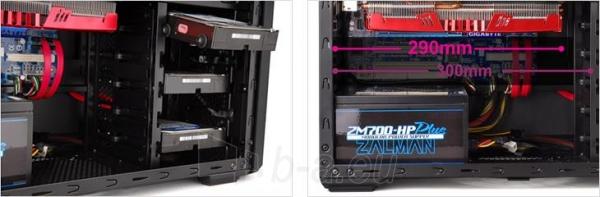 PC korpusas Zalman Chasis Z11 Plus HF1 Midi Tower USB 3.0 Paveikslėlis 9 iš 9 250255900905