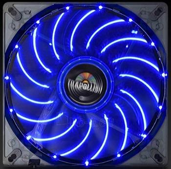 PC korpuso ventiliatorius Enermax T.B.Apollish Blue 13.9cm Paveikslėlis 2 iš 2 2502552400181