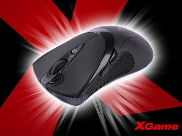 Pelė A4Tech XGame X-748 USB Paveikslėlis 2 iš 3 250255031183