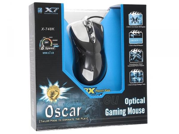 Pelė A4Tech XGame X-748 USB Paveikslėlis 3 iš 3 250255031183