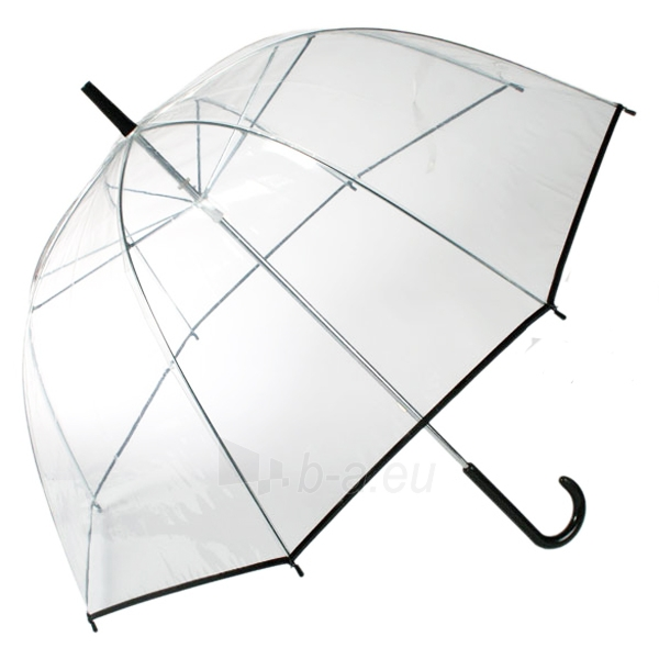 Permatomas didelis skėtis (Juoda apdaila) Paveikslėlis 1 iš 3 251005000130
