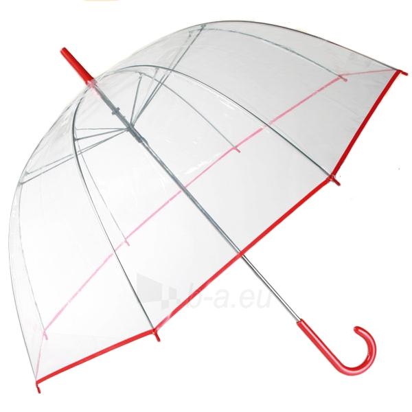 Permatomas didelis skėtis (Raudona apdaila) Paveikslėlis 1 iš 3 251005000132