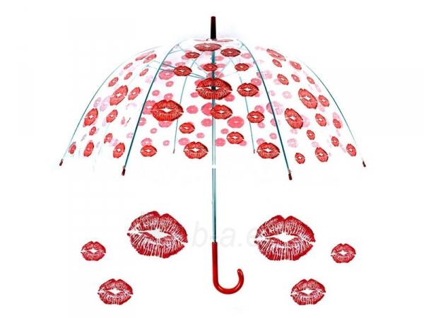 Permatomas didelis skėtis Bučinys Paveikslėlis 6 iš 6 251005000129