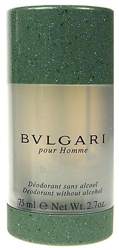 Pieštukinis dezodorantas Bvlgari Pour Homme Deostick 75ml Paveikslėlis 1 iš 1 2508910000389