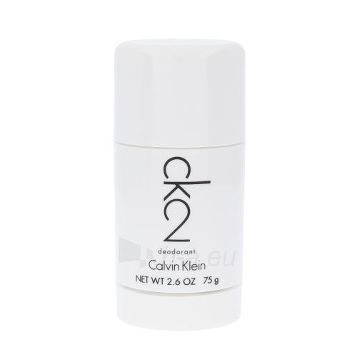 Pieštukinis dezodorantas Calvin Klein CK2 Deostick 75ml Paveikslėlis 1 iš 1 310820003085