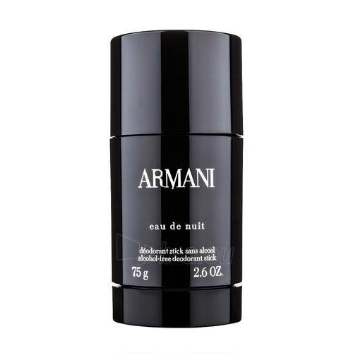 Pieštukinis dezodorantas Giorgio Armani Eau de Nuit Deostick 75ml Paveikslėlis 1 iš 1 2508910000871