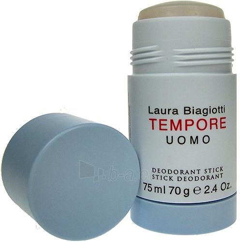 Pieštukinis dezodorantas Laura Biagiotti Tempore Uomo Deostick 75ml Paveikslėlis 1 iš 1 2508910000551