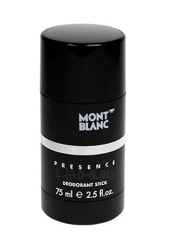 Pieštukinis dezodorantas Mont Blanc Presence Deostick 75ml Paveikslėlis 1 iš 1 2508910000742