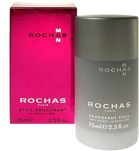 Antiperspirant & Deodorant Rochas Man Deostick 75ml Paveikslėlis 1 iš 1 2508910000588
