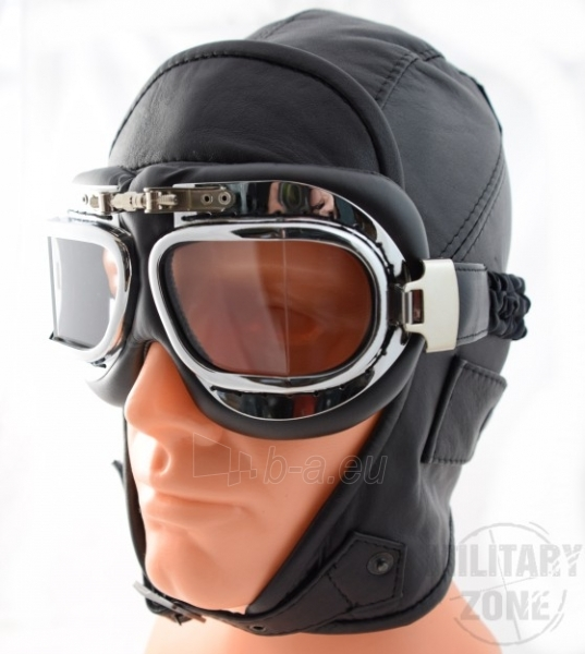 Piloto kepurė, odinė Witleather Paveikslėlis 1 iš 1 251510700201