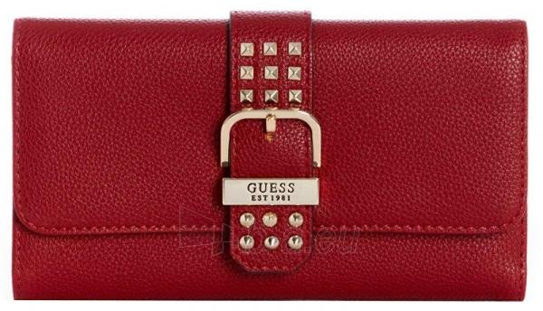 Piniginė Guess Women´s wallet Eileen Studded Multi Clutch Crimson Paveikslėlis 1 iš 3 310820192167