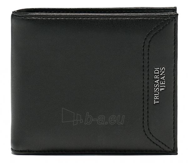 Piniginė Trussardi Essential 71W00079-K299 Black Paveikslėlis 1 iš 3 310820201814