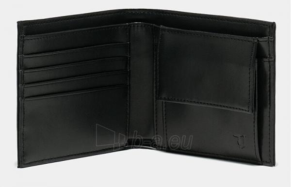 Piniginė Trussardi Essential 71W00079-K299 Black Paveikslėlis 3 iš 3 310820201814