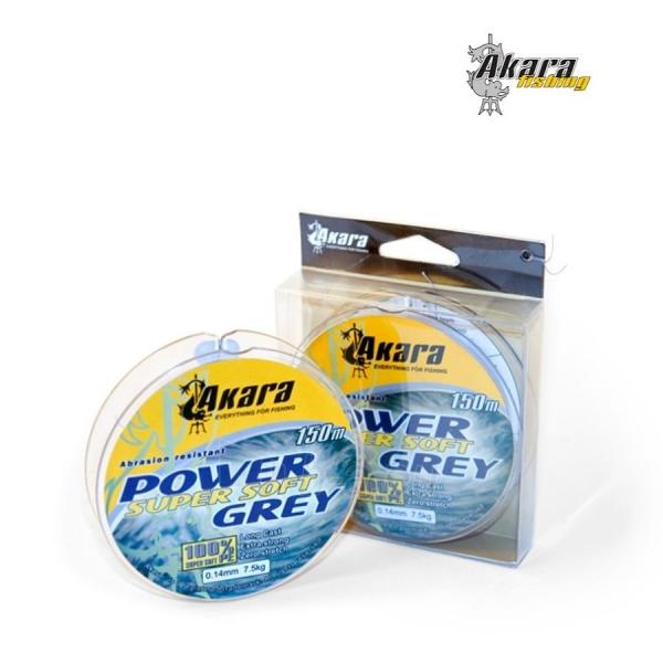 Pintas valas AKARA Power Super Soft Grey 150 Paveikslėlis 1 iš 1 310820038763