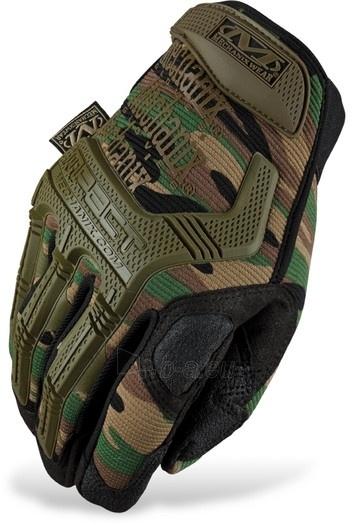 Pirštinės Mechanix Wear The M-Pact Glove Woodland 2012 Paveikslėlis 1 iš 1 251510800030