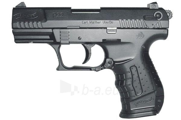 Pistoletas AEG Walther P22 0,08J spyruoklinis Paveikslėlis 1 iš 1 310820037455