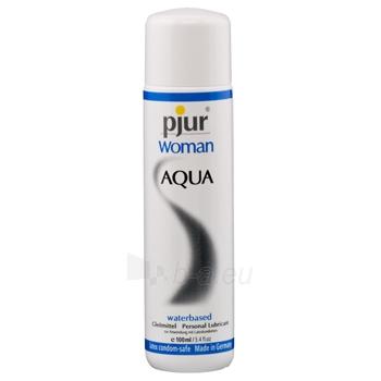 Pjur - Woman Aqua 100 ml - lubrikantas moterims Paveikslėlis 1 iš 1 2514121000043
