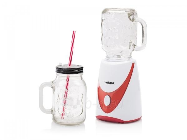 plaktuvas tristar bl 4456 mason jar blender with 2 glass jars 4 colored straws 310820154232 2753117