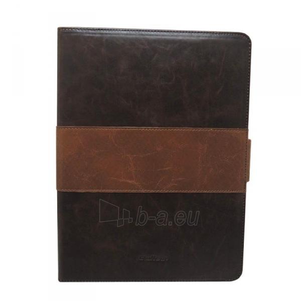 Planšetės dėklas Qoltec Universalus 9-10.1 Rudas Paveikslėlis 6 iš 7 310820013566