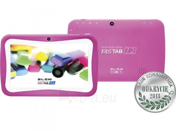 Planšetinis kompiuteris Planšetė BLOW KidsTAB 7.4 rožinis + etui Paveikslėlis 1 iš 4 310820028587