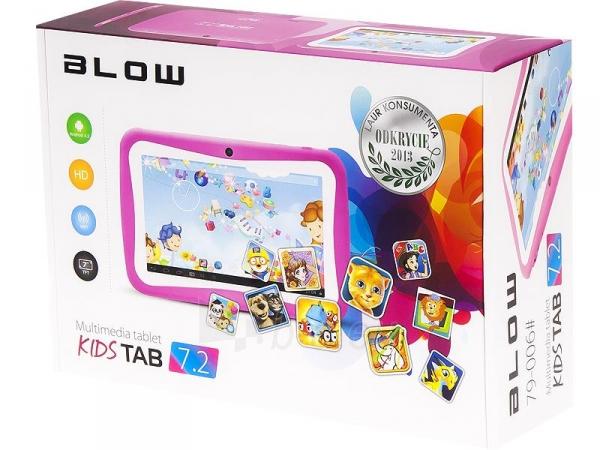 Planšetinis kompiuteris Planšetė BLOW KidsTAB 7.4 rožinis + etui Paveikslėlis 2 iš 4 310820028587