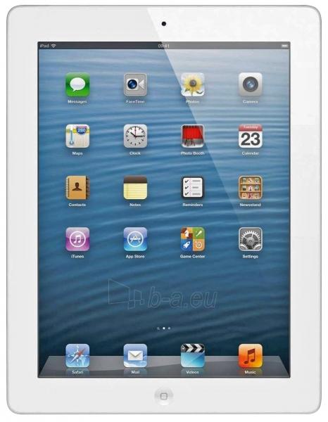 Planšetinis kompiuteris Apple ME407KS/A iPad 4 Wi-Fi 4G Cellular 128Gb balts - white Paveikslėlis 1 iš 1 310820014080