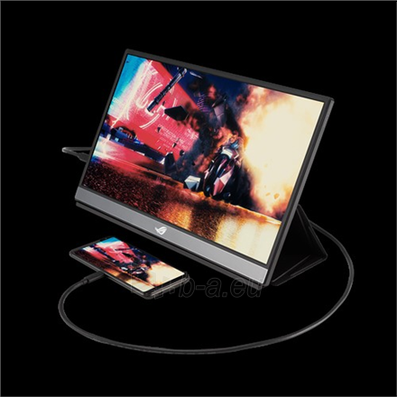 "Planšetinis kompiuteris Asus ROG Strix Portable Gaming XG17AHPE 17.3 "", IPS, FHD, 1920 x 1080, 16:9, 3 ms, 300 cd/m², Black Paveikslėlis 4 iš 7 310820223971"