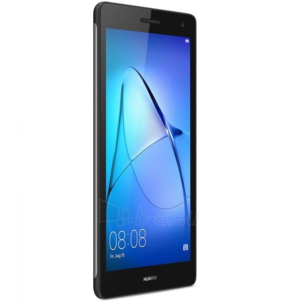 Planšetinis kompiuteris Huawei MediaPad T3 7 3G 8GB Space Gray (BG2-U01) Paveikslėlis 4 iš 5 310820154258