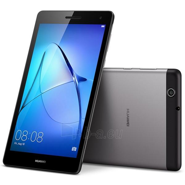 Planšetinis kompiuteris Huawei MediaPad T3 7 3G 8GB Space Gray (BG2-U01) Paveikslėlis 5 iš 5 310820154258