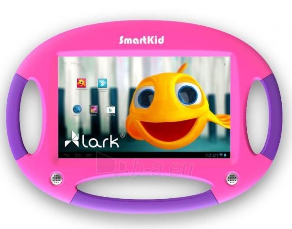 Planšetinis kompiuteris Lark Smart Kid 7 Pink, tablet 7, 1,2GHz,1GB RAM ANDROID Jelly Bean 4.2 Violet Paveikslėlis 1 iš 3 250252801679
