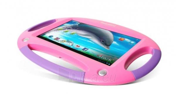 Planšetinis kompiuteris Lark Smart Kid 7 Pink, tablet 7, 1,2GHz,1GB RAM ANDROID Jelly Bean 4.2 Violet Paveikslėlis 2 iš 3 250252801679