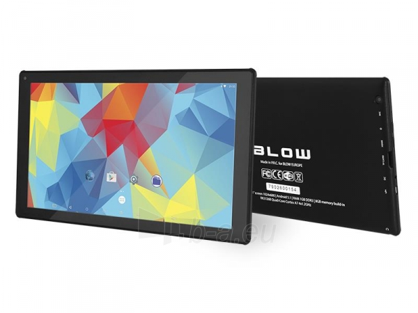 Planšetinis kompiuteris Planšetė BLOW BlackTAB10.4 Paveikslėlis 1 iš 4 310820028599