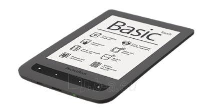 Planšetinis kompiuteris POCKETBOOK Basic Touch 624 black Paveikslėlis 1 iš 1 250252801018