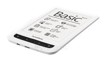 Planšetinis kompiuteris POCKETBOOK Basic Touch 624 black/white Paveikslėlis 1 iš 1 250252801019